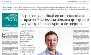 Entrevista de DIARIO PALENTINO al dr. Ramón Calderón Nájera
