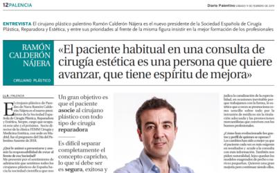 Diario Palentino entrevista al Dr. Ramón Calderón Nájera
