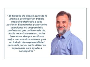 El cirujano plástico Eduardo Avilés Martín especialista en pecho y abdomen en Madrid.