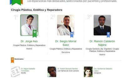 El Dr. Ramón Calderón Nájera, elegido entre los tres mejores cirujanos plásticos de España