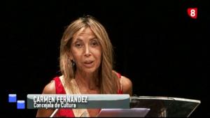Carmen Fernández, concejala de Cultura de Palencia.