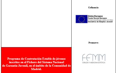 FEMM beneficiaria de una subvención del Programa de Impulso a la contratación en prácticas