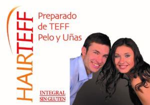 Hairteff es un  compuesto de cereal Teff, aminoácidos y otros elementos.