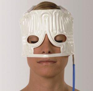 Hiloterapia en área superior del rostro.