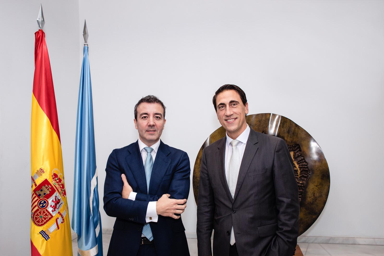 El dr. Ramón Calderón Nájera, nuevo presidente de SECPRE; junto al dr. Joan Fontdevila Font, nuevo secretario general.
