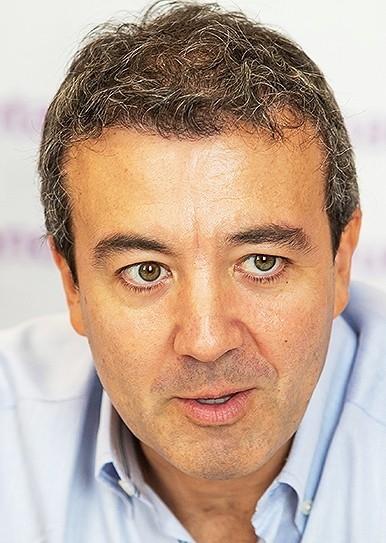El dr. Ramón Calderón - Foto: Eva Garrido (Diario Palentino)